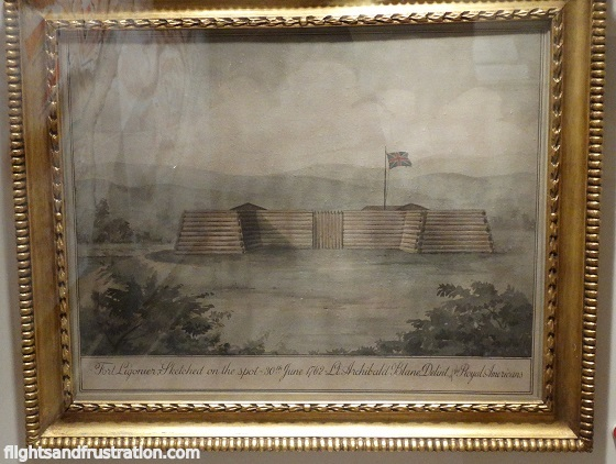 Fort Ligonier sketch dated 30th June 1762 you'll find this picture in many museums in pa