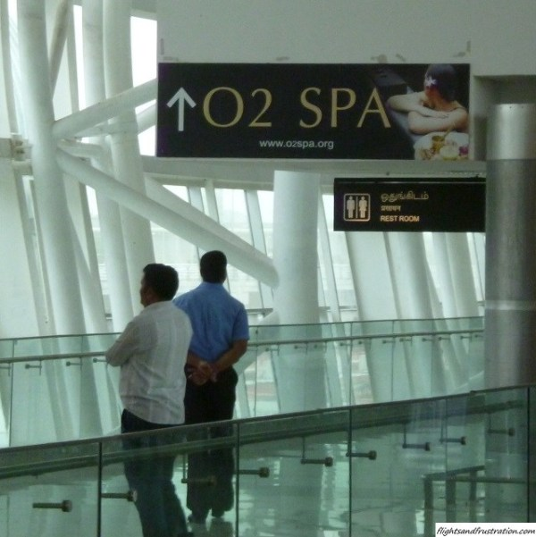 Go all out for the spa treatment at the new Chennai Airport Domestic Terminal