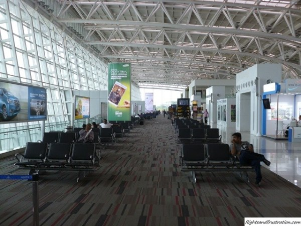 The vastly improved domestic terminal at Chennai Airport