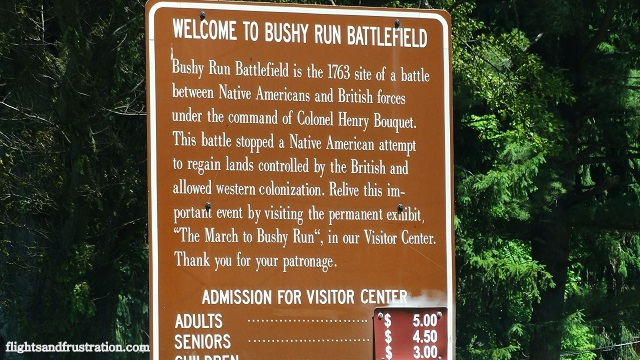 Welcome to Bushy Run Battlefield