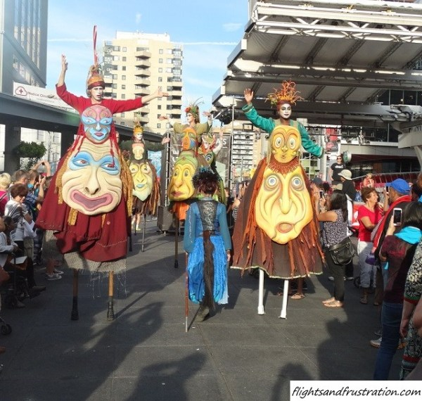 A parade of many faces at the Toronto Buskerfest 2014