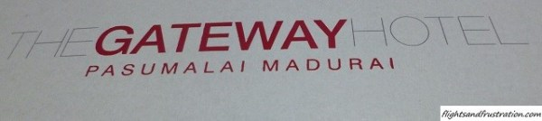 The Gateway Hotel Pasumalai Madurai