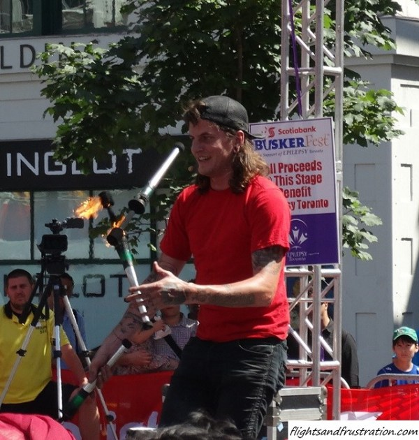 Too hot to handle at Buskerfest Toronto (30)