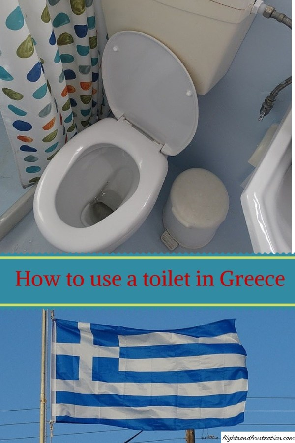 How To Use The Toilet In Greece (And Some Other Countries)