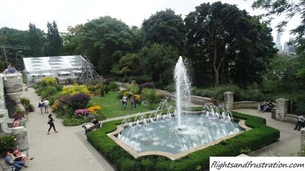Some of the gardens at Canada's castle - Casa Loma Toronto