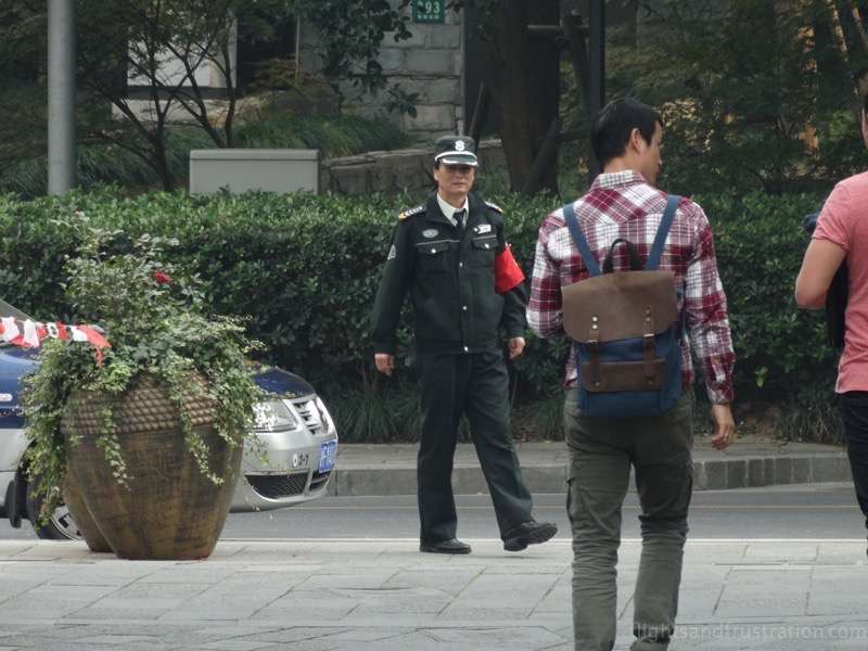 A police state customs of china