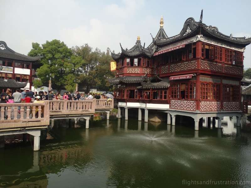 The Jiu Qu Bridge Leads To A Wonderful Tea House