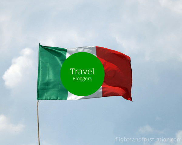 Flying the flag for travel bloggers
