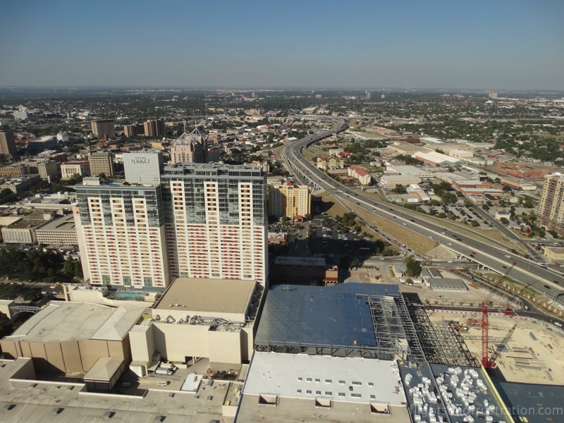 Views from the Tower of the Americas San Antonio Texas