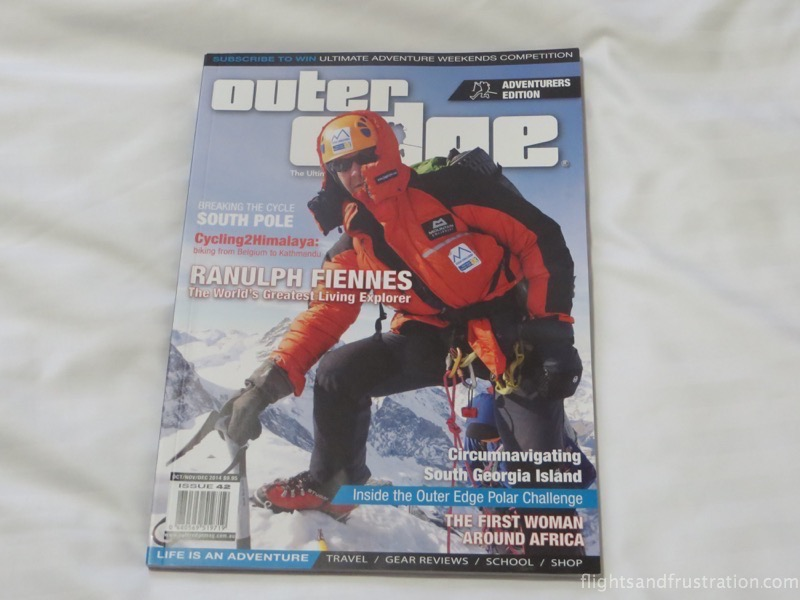 Outer Edge magazine with Charles Werb and the Outer Edge Polar Challenge Ride