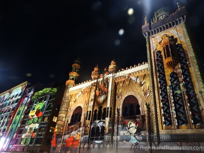 Welcome to Flinders Street during White Night Melbourne 2015