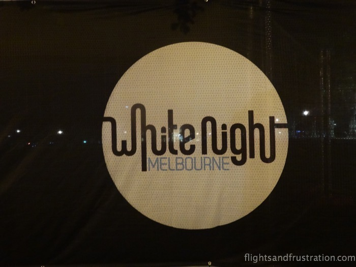 White Night Melbourne logo