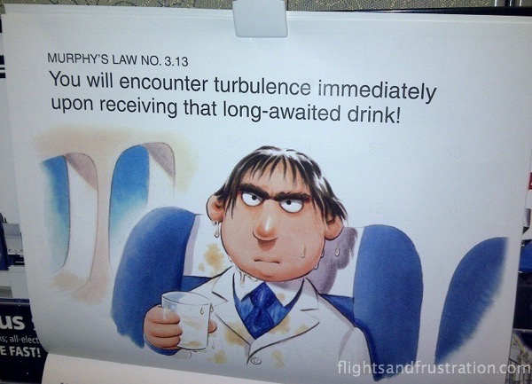 An effect of turbulence - never flown before