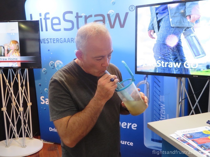how to make dirty water clean - Drinking dirty water with the life straw