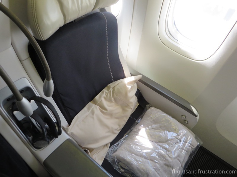 Seat with Air France Premium Economy