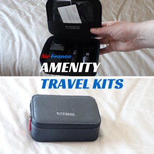 Air France Travel Amenity Kits Review