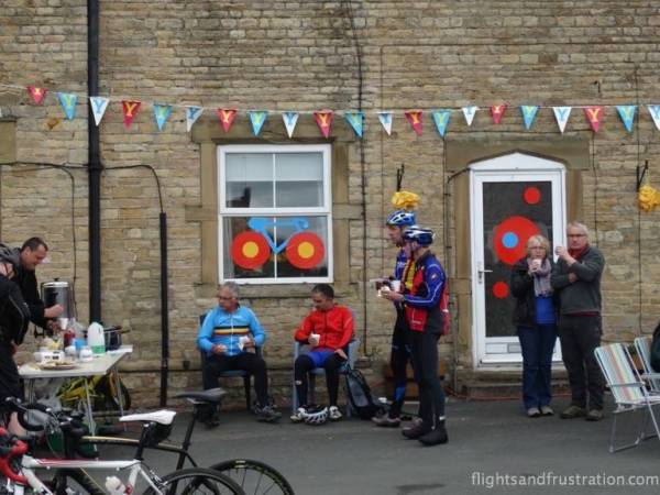 Nothing like a good cup of tea in Yorkshire during the build up to le tour yorkshire