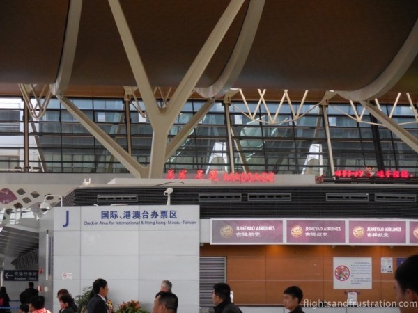 You can even get a massage at Shanghai Airport Departures Terminal