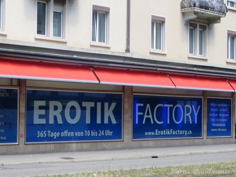 switzerland culture The Erotik Factory in Zurich