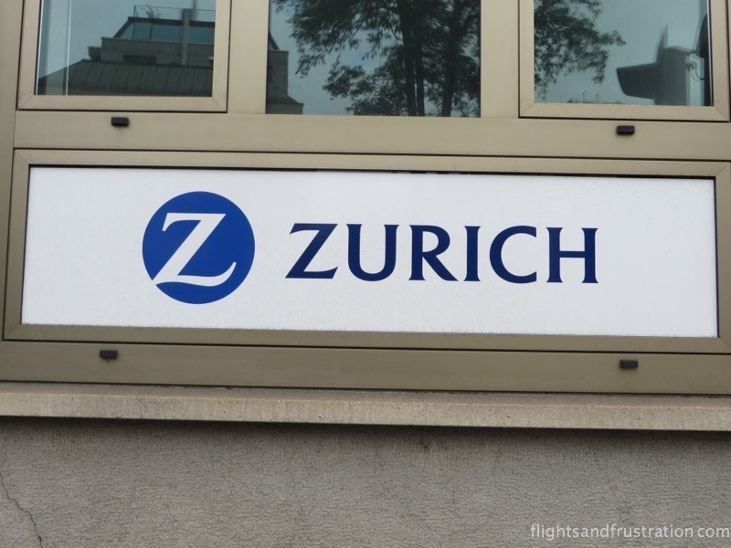 The swiss bank Zurich insurance company logo