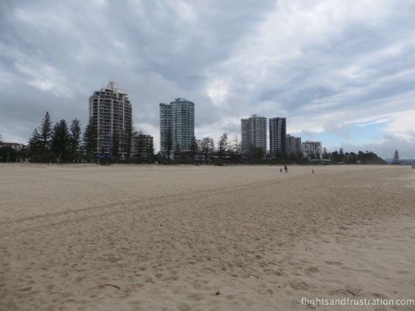 Apartments with unobscured views accommodation Coolangatta beach