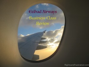 Business Class On Etihad Airlines Review