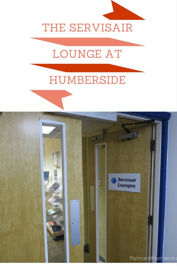 The Servisair Lounge at Humberside
