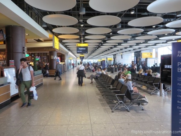 Heathrow T5 A very modern terminal