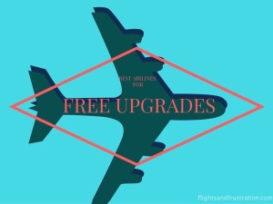 Which Is The Best Airline For Free Upgrades