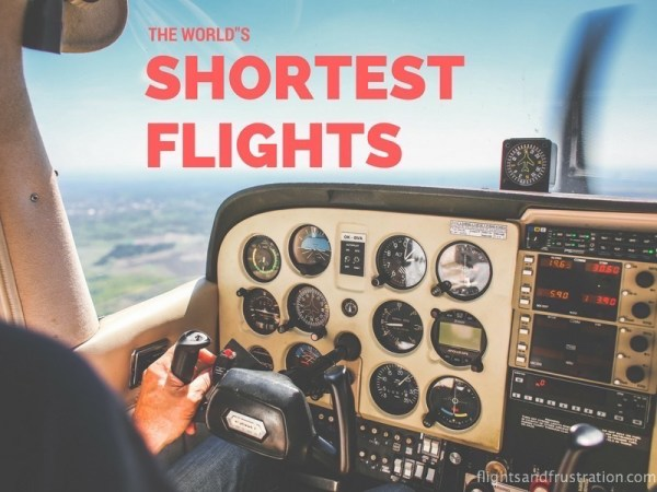 shortest flights in the world