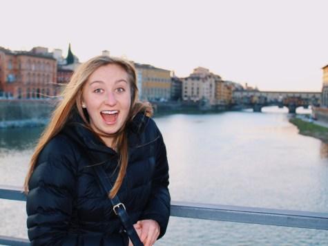 Nat and the Ponte Vecchio