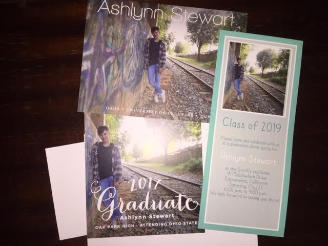 graduation announcements in the age of technology flights of fancy mom