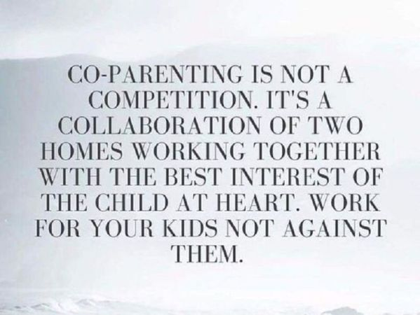 co-parenting after a divorce