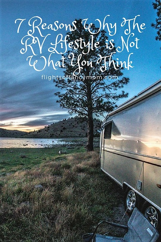 reasons why the rv lifestyle is not what you think