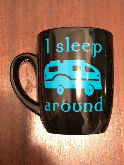 camper coffee mug