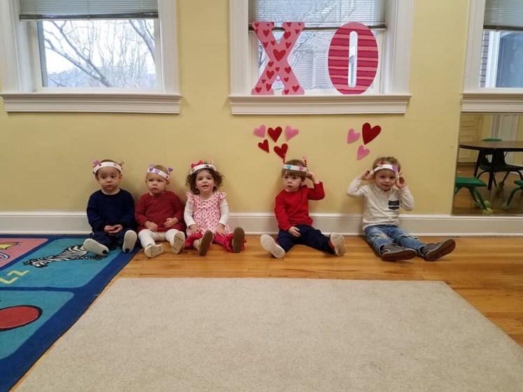 pre-school Valentine's Day party | flight suit fairytale