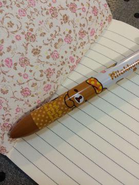 le stylo reçu
