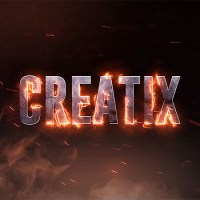How to Make Real Fire Text effect in After Effects