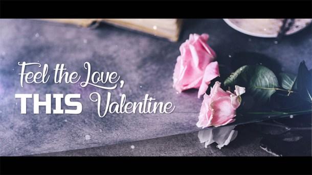 Valentine Special Modern Slideshow in After Effects - Flimlion VisualFX