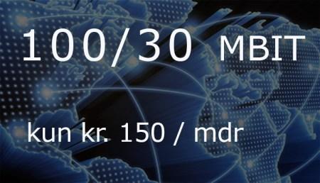 billigt internet - kun 150 kr/mdr