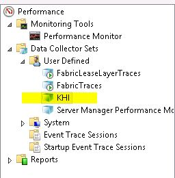 The script creates a Lync-specific KHI collection within Performance Monitor for you.