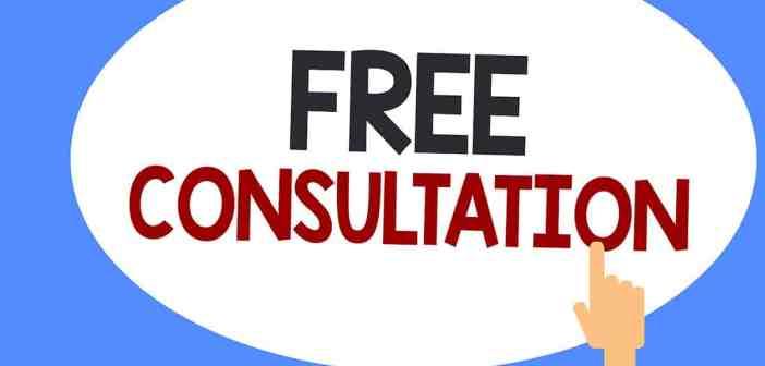 Free consultation graphic