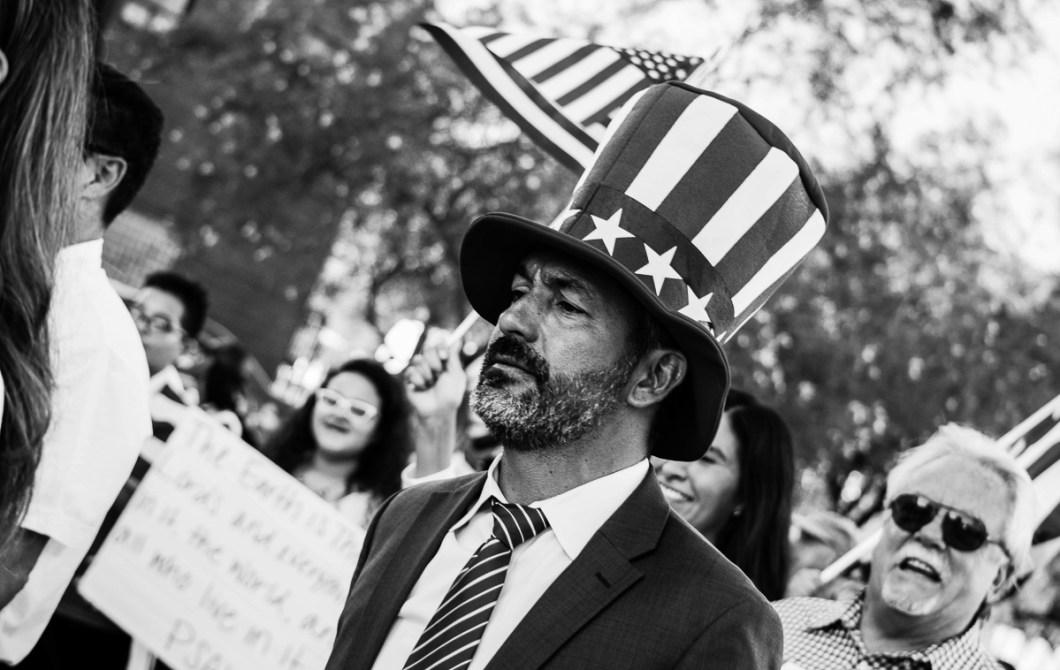 USA. Trump, Texas, politics, photo essay, FLINT, music-4