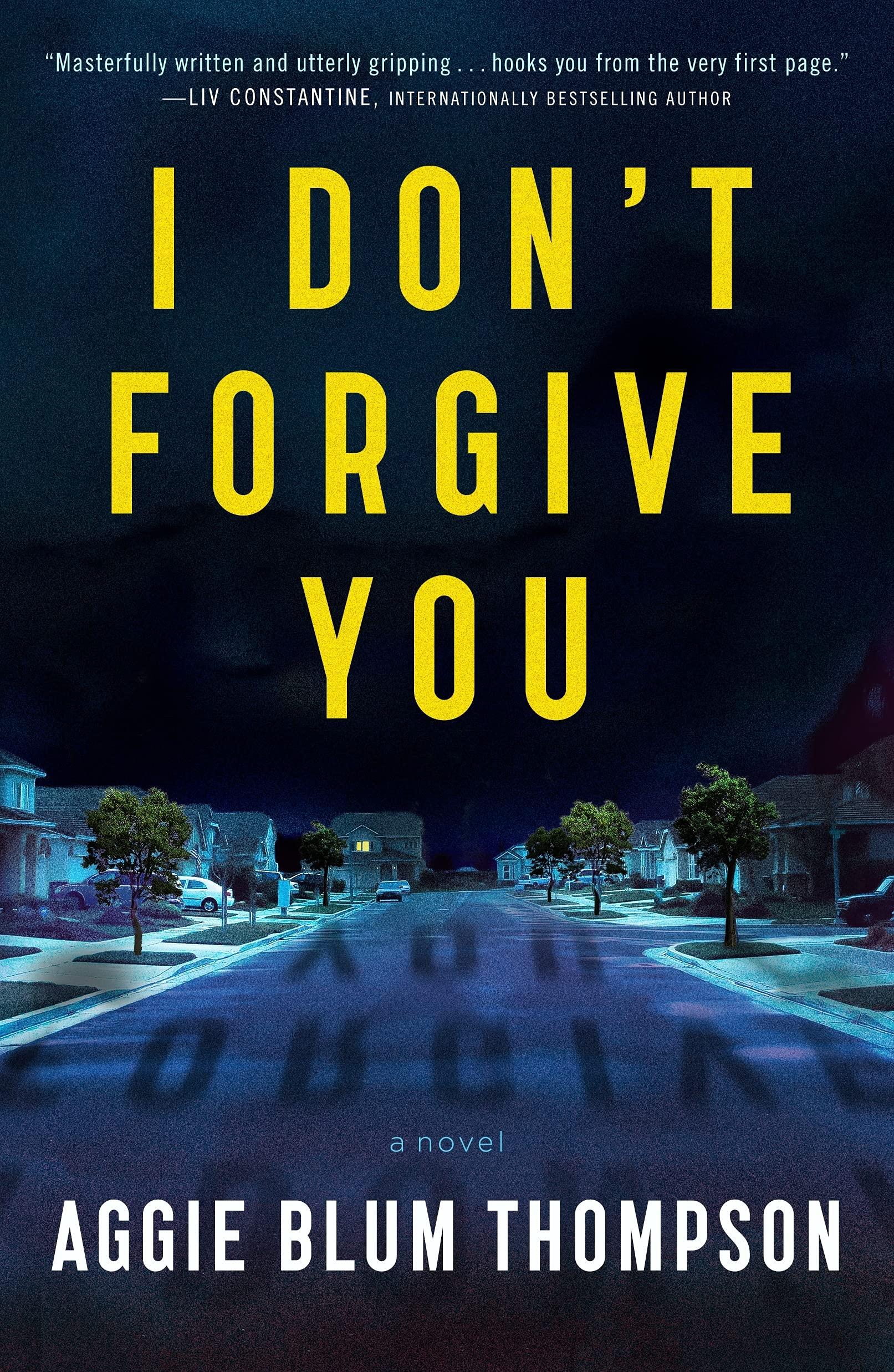 I Don't Forgive You