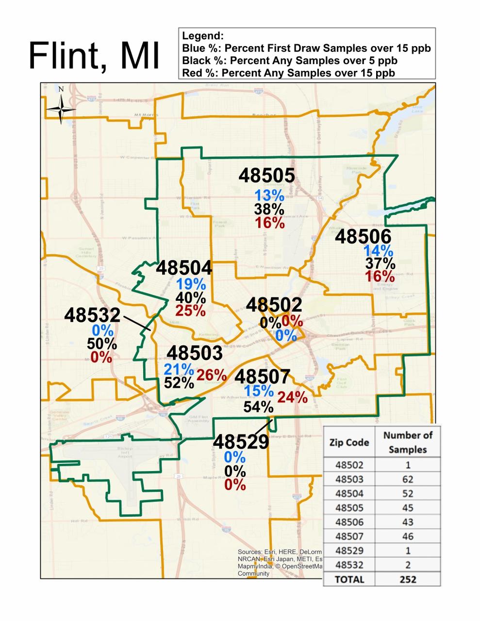 Flint Mi Zip Code Map Zip Code Map