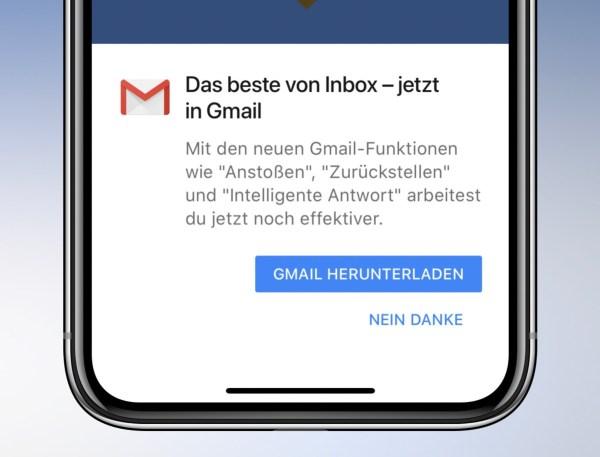 Inbox Gmail Fail