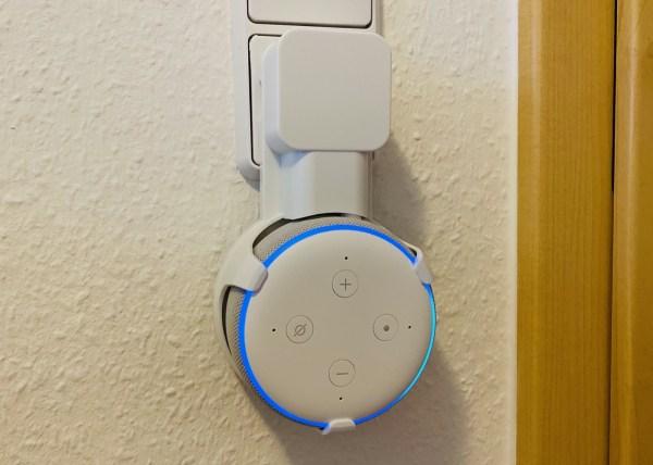 Echo Dot Halterung 2