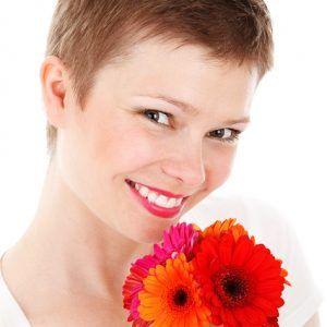 Con una sonrisa transmites felicidad y optimismo.