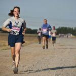 Mujer haciendo running