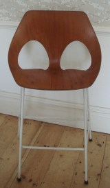 Scandinavian, retro bar stool.